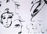 Calligraphy Pen Sketching