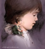 The Littlest Fairy and the Blind Boy, children's book illustration (Happy Valley Productions), 2014, digital painting