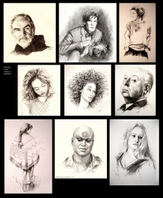 Portraiture selections (2012-14)