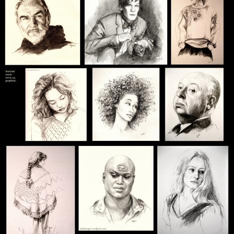 Portraiture selections (2012-14)