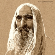 Christopher Lee - Saruman the White
